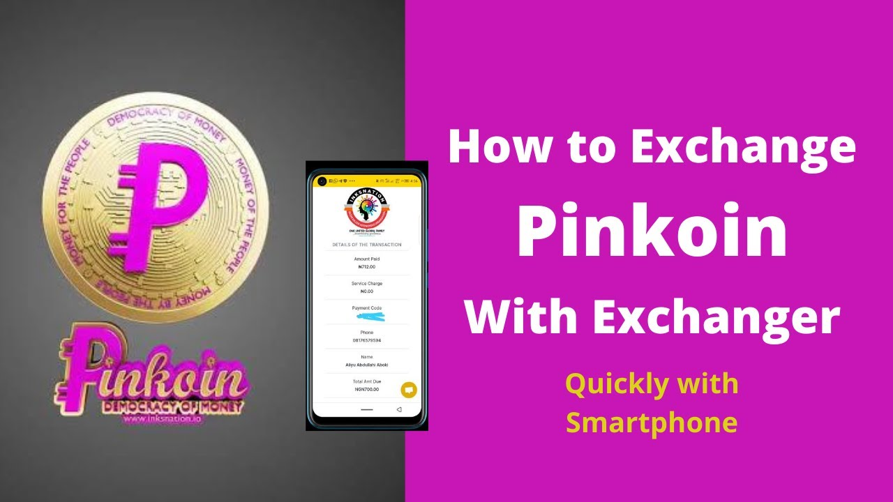 Download Inksnation: How to Exchange Pinkoin with Exchanger   Fast and Quick!