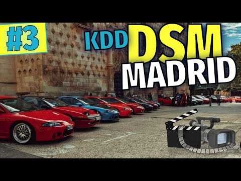 "Download #3️⃣ DSM Madrid MEETING 🗻 Mitsubishi ECLIPSE 2G DSM event 🏅 ""Guadalajara"""
