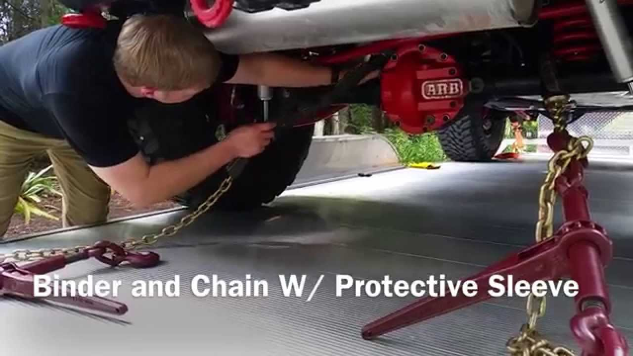 how to put chains on your car