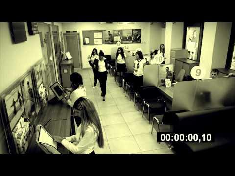 Флэшмоб в банке Краснодара | 10 лет ВТБ24
