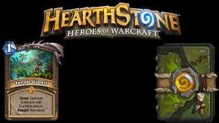 Hearthstone Pack Openings & Quest Druid