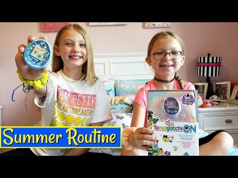 Francesca and Leah&39;s Summer Afternoon Routine With Tamagotchi