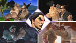EVOLUTION of Kazuya Mishima's Stonehead