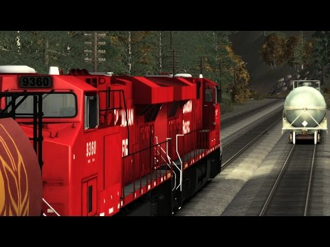 Train Simulator 2015 CP rail episode1 part2