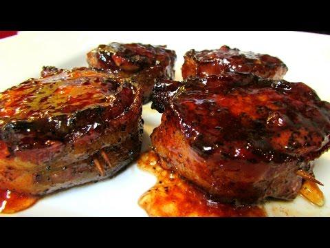 Pork Tenderloin – Bacon Wrapped Pork Tenderloin – Recipe