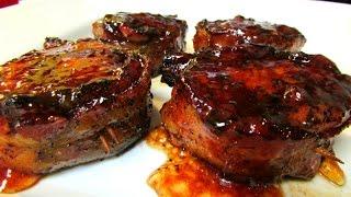 Pork Tenderloin - Bacon Wrapped Pork Tenderloin - Recipe