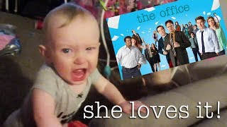 BABIES LOVE THE OFFICE!! (Day 466)