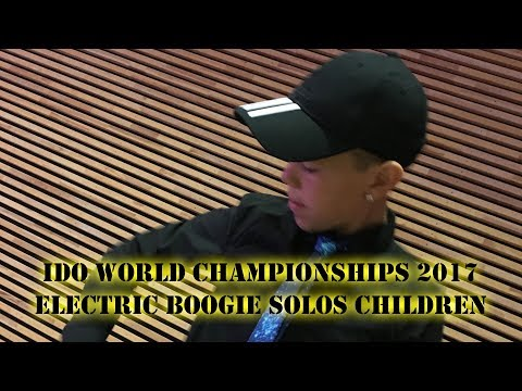 IDO World Championships 2017 in Copenhagen: Electric Boogie Solos Children