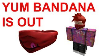 ROBLOX YUM BANDANA IS OUT