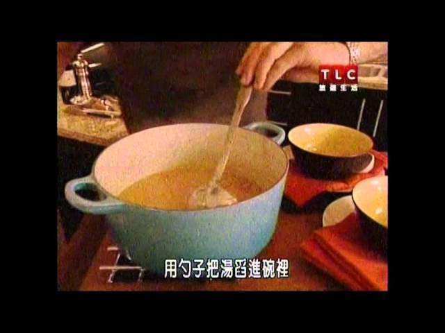 柯提斯 清爽雞肉花枝湯 炒芥藍