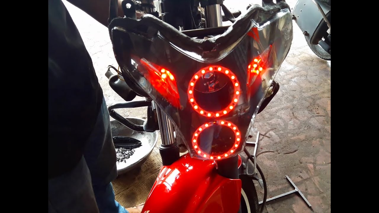 How to install angel lights pulsar 220 bullet singh boisar