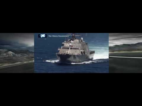 Littoral Combat Ship USS Independence idles in the waters