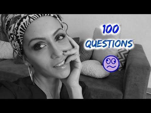 ♡TAG♡ 100 questions que personne ne pose