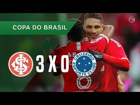 INTERNACIONAL 3 X 0 CRUZEIRO - GOLS - 04/09 - COPA DO BRASIL 2019