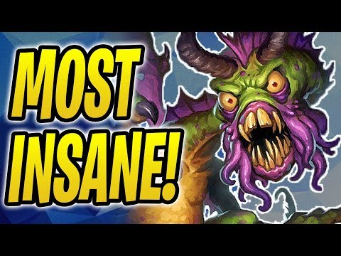 The Most INSANE Shudderwock In Hearthstone HISTORY?! | Shudder Yogg Shaman | The Boomsday Project