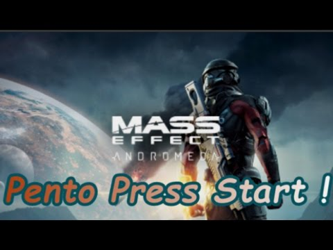 Pento Press Start : Mass Effect Andromeda