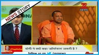 DNA: UP CM Yogi Adityanath in conversation with Sudhir Chaudhary