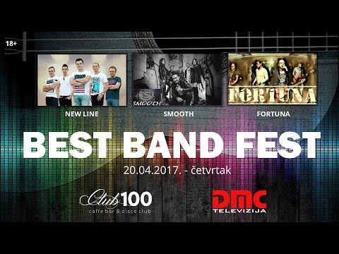 Best Band Fest - 3. večer (New line, Smooth, Fortuna)