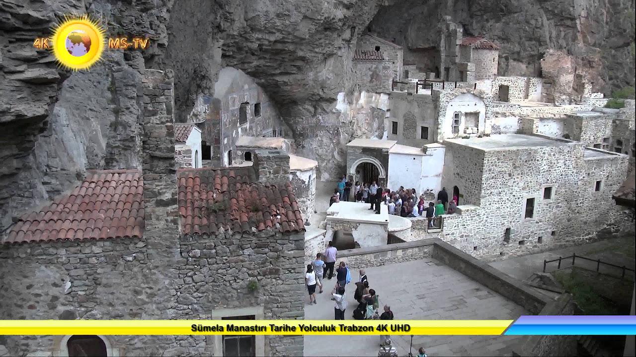 Sümela Manastırı Tarihe Yolculuk Trabzon 4K UHD