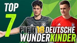 FIFA 18 Deutsche Wunderkinder unter €2m - und Aymen Barkok