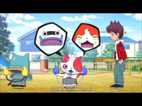 Yokai Watch (tester) amv:Meg & Dia - Monster Creatures lie here looking through the window