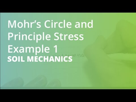 Mohru0027s Circle And Principle Stress Example 1 | Soil Mechanics