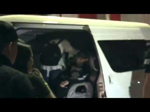 ANTARANEWS - SHINee keluar dari area konser SHINee World V in Jakarta (fancam)