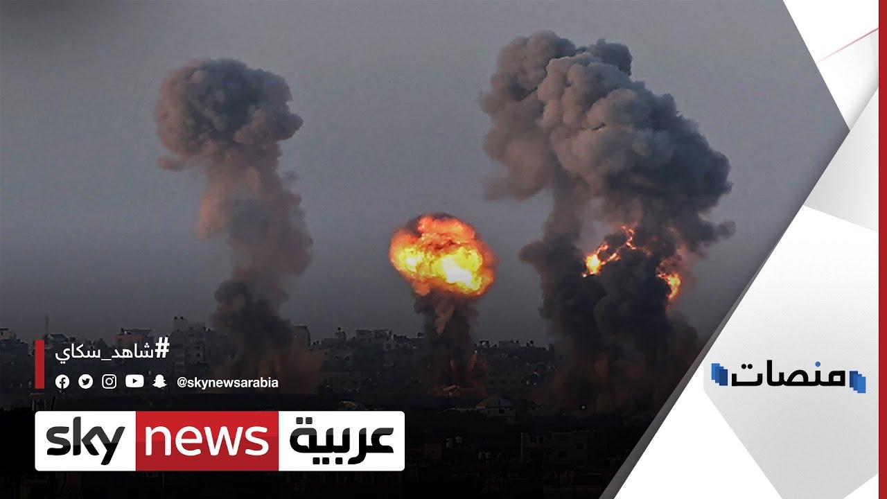 استمع إلى تسريب مكالمة للجيش الاسرائيلي مع سكان #غزة قبل القصف| #منصات  - نشر قبل 4 ساعة