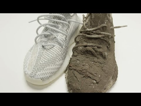 HOW TO CLEAN YEEZY 350 V2 TUTORIAL