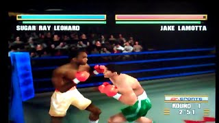 Knockout Kings 2000 Playstation Gameplay