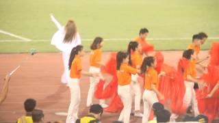 Niềm tin chiến thắng - Mỹ Tâm | Biểu diễn trước trận ĐT Việt Nam vs Man City (27/7/2015)