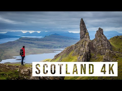 BEST OF SCOTLAND TRAVEL 2017 | 4K Drone DJI Mavic Pro & GoPro HERO 5