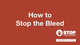 What do you learn in a bleeding control course?