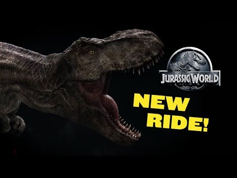 Universal Studios Hollywood announces new Jurassic World ride