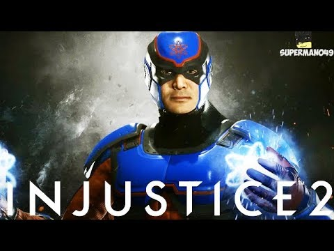 "Injustice 2: New Atom Story! - Injustice 2 ""Atom"" DLC New Back Story"