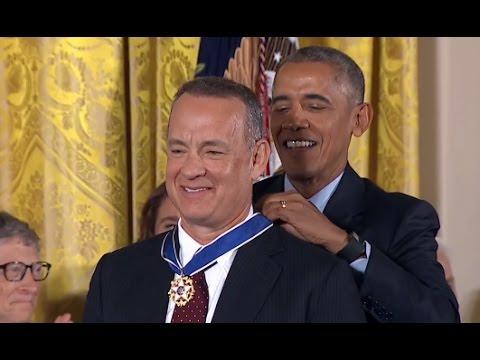 Tom Hanks Awarded Medal Of Freedom