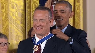 Tom Hanks Awarded Medal Of Freedom