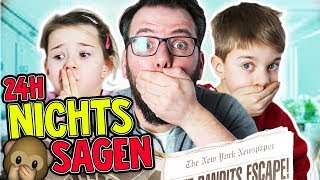 1 Tag lang NICHTS SAGEN Challenge - Pssssst 🙊 Lulu & Leon - Family and Fun
