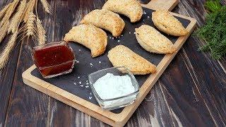 Как приготовить пирожки из сырного теста - Рецепты от Со Вкусом