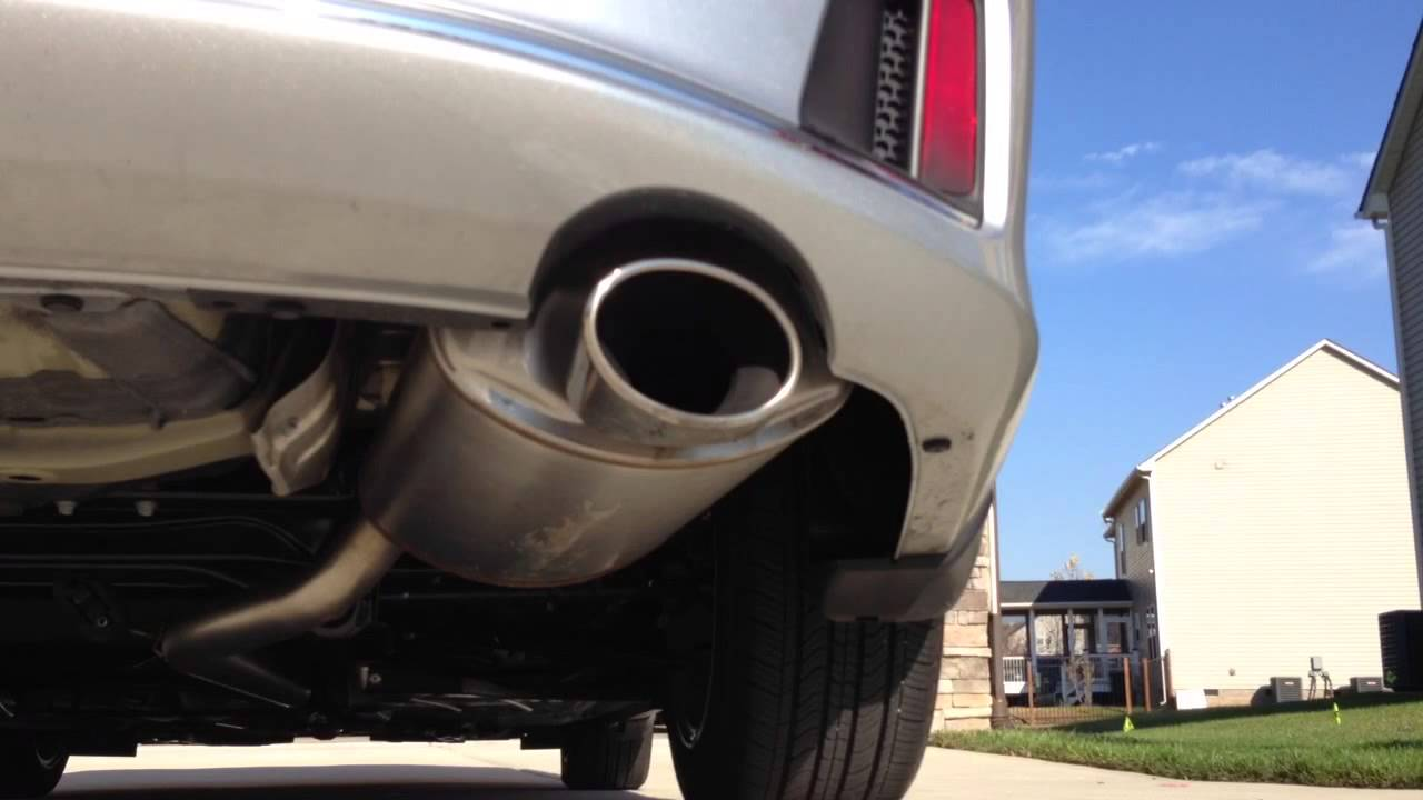 2013 Honda Accord Coupe I4 Stock Exhaust