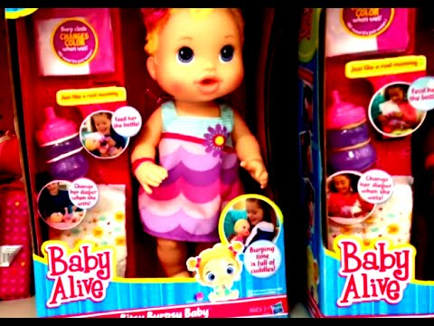 Baby Alive Bitsy Burpsy Baby Pretend Baby Doll With