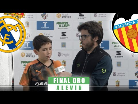 POST / Real Madrid 3-2 Valencia / Alevín / Final ORO