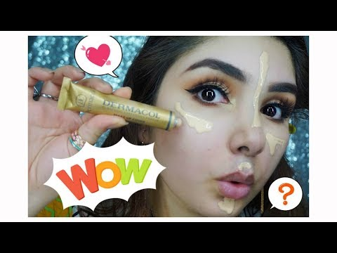 Dermacol makeup cover foundation review world most full coverage foundation (Urdu/Hindi)
