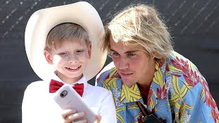 Walmart Yodel Boy PERFORMS & Meets Justin Bieber at Coachella 2018