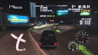 Shift 2 Unleashed Gameplay - Legends DLC - Hazyview Oval - Mini Cooper