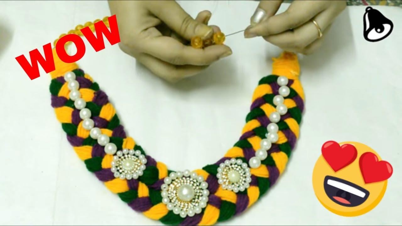 Woolen Jewelry Designs-Telugu fashion news and trends