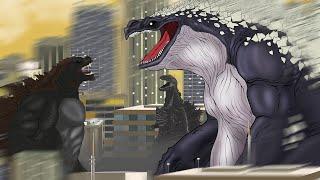 WHALE GODZILLA!!   Kongzilla VS Shin Godzilla , Whale Godzilla : PANDY GODZILLA