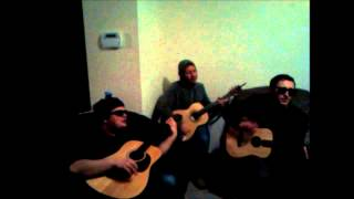 "The Blue Veins play ""Jukehouse Queen"" Acoustic at the doHo"