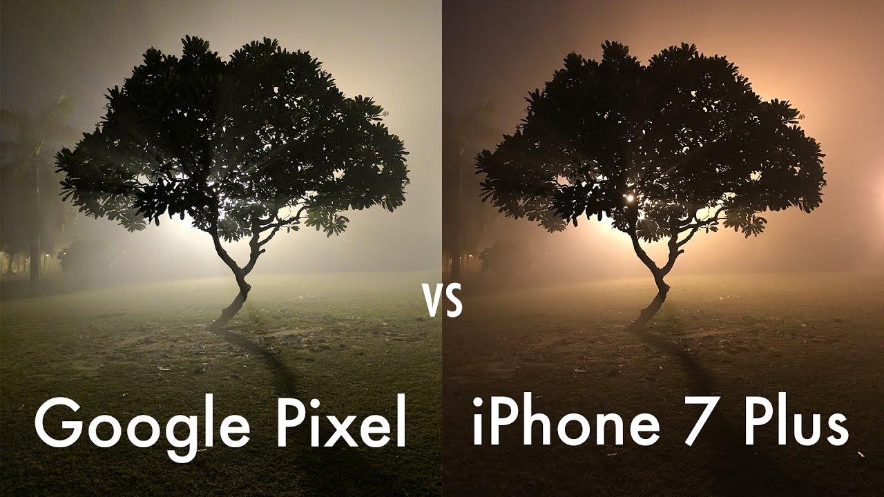 iphone 7 vs 7 plus camera comparison