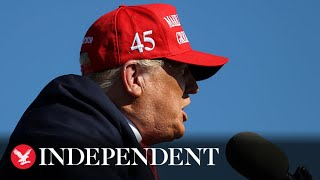 Live: Trump campaigns in Goodyear, Arizona